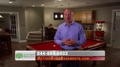Better Built Basements: Scot Haney Endorsement 30 - How would you like to take your basement from unfinished to unbelievable? You can with the help of Better Built Basements! http:/www.betterbuiltbasements.com
