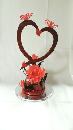 "My Chocolate Showpiece ""Valentines Day"". Theme was Holidays."
