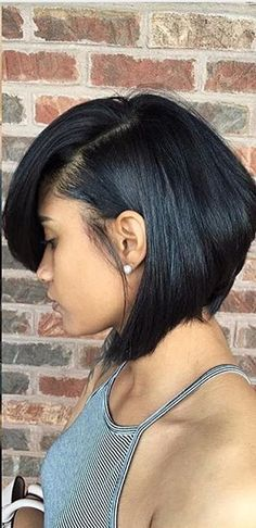 So sleek! Bob Hairstyles 2018, Short Hair Styles, Natural Hair Styles, Short Cuts, Bob Cuts, Honey Hair, African Fashion, African Style, Bridal Hair