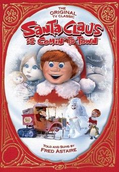 Santa Claus is Coming to Town! One of the BEST Christmas Movies ever! Remember the Burgermeister Meisterburger as a kid?
