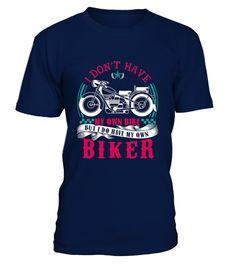 Biker T-Shirt I Don't Have My Own Bike 8 (Round neck T-Shirt Unisex - Navy) extreme bike, womens bike, photography mountain #mountainbikeutah #mountainbikemonday #mountainbikersbrtv, back to school, aesthetic wallpaper, y2k fashion Biker Shirts, Neck T Shirt, Mens Tops, Unisex, Women, Fashion, Moda, Women's, La Mode