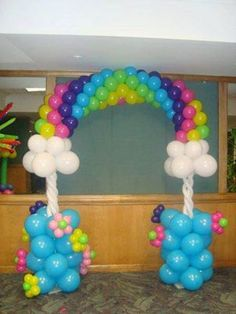 Balloon decor.  #balloon arch #balloon-arch #balloon decor #balloon-decor #balloon #arch #balloon #decor