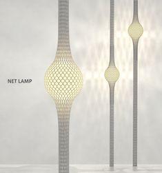 Net lamp by Ryosuke Fukusada