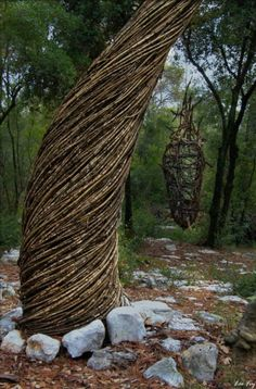 Spencer Byles - Sculpture No 7, A Year in a French Forest. 2011-2012