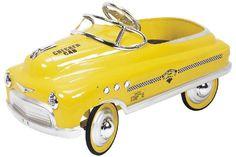 Comet Checker Cab yellow