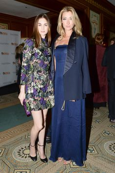 Laura Love and Lauren Remington Plat in Vênsette hair and makeup at the inaugural OAfrica charity gala