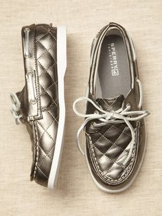 Sperry GirlsQuilted Boat Shoe