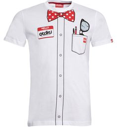Otaku geeky bow tie T-shirt