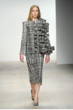 Hellen van Rees AW12 look 2 #AW12 #hellenvanrees #fashion