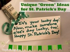 """Unique """"Green"""" Ideas for Making St. Patrick's Day Special #stpatricksday"""