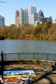 Piedmont Park in Downtown Atlanta