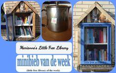 """Marianne's Little free Library """"minibieb van de week"""" nummer 38 bij Jet's Minibieb."""