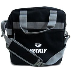 cool Beckly Super Bowling Tote -Bowling Bag- Fits Your Bowling Ball and Bowling Shoes- Single Bowling Ball Tote- Front Zippered Pocket and inside Shoe Sleeves-Carry and Shoulder Straps-For your Home Bowling Alley or At the Professional Arena- Perfect Bowling equipment- Great Holiday gift For bowling pro or rookie- Made from the Highest Quality Material and Superior craftsmanship- Superior quality bowling ball sports bag- Backed by the Famous Beckly money Back Guarantee!, Black