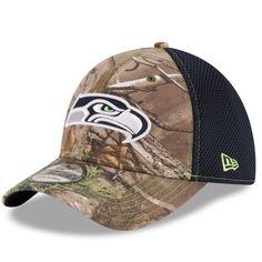 3cfb92121 Seattle Seahawks New Era Realtree Camo Neo 39THIRTY Flex Hat