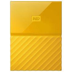 Hard Disk Drive WD My Passport WDBYNN0010BYL, 1TB, USB 3.0,  galben Hard Disk Drive, Seo Marketing, Hdd, Passport, Design, Computer Hard Drive, Design Comics