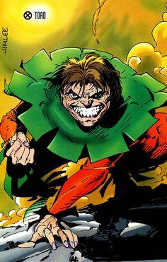 Marvel Comics: Toad, Brotherhood of Evil Mutants (X-Men) - Jim Lee art