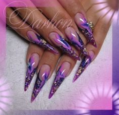 Stiletto Nails Tumblr | Found on nailartgallery.nailsmag.com