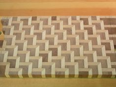 Staggered Steps Endgrain Cutting Board - by SPalm @ LumberJocks.com ~ woodworking community