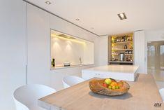 interieur Luxury Kitchens, Open Plan, Minimalist Design, Kitchen Design, Kitchen Ideas, Luxury Homes, Rustic, Contemporary, Interior