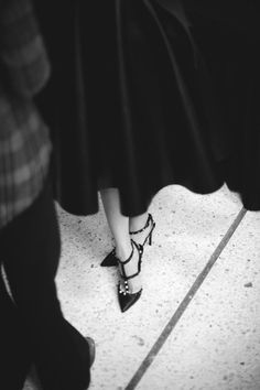 Well-heeled: Valentino shoes.