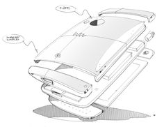 Nice exploded view #id #product #sketch