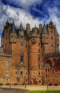 Glamis Castle,Glamis,Scotland,UK