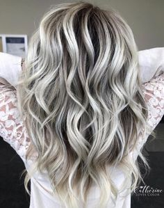 Hello Ice Queen: Over 200 Gorgeous Photos of Silver Hair Color Inspo [ New for ] Looking for silver hair inspo? of pictures of silver hair highlights, silver hair ombre, silver hair bayalage, silver hair inspo and more. Dark Silver Hair, Silver Ombre Hair, Gold Hair, Platinum Silver Hair Color, Silver Hair Colors, Black Silver, Short Silver Hair, Long To Short Hair, Long Gray Hair