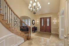 Looking for Entryway ideas for your home? Check out these 29 foyer and entryway custom designs. Including decor, decorating, rugs, benches and more.