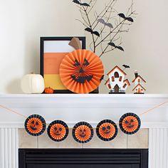 Pumpkin Halloween Garland