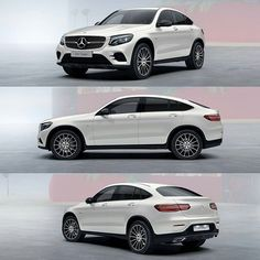 The all new 2017 Mercedes GLC Coupe