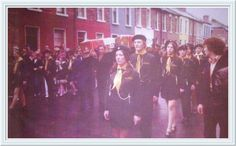 ROSE CURRY AND GERARD OHARE FUNERAL 1971