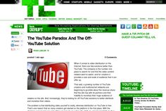 http://techcrunch.com/2013/06/16/the-youtube-paradox-and-the-off-youtube-solution/ The YouTube Paradox And The Off-YouTubeSolution   #Indiegogo #fundraising http://igg.me/at/tn5/