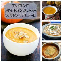 12 Winter Squash Soup Recipes