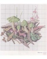 """Gallery.ru / Los-ku-tik - Альбом """"The Magic Of The Forest In Cross Stitch And Watercolor"""""""