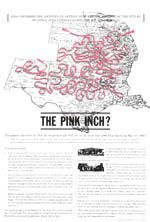 The pink air pipeline