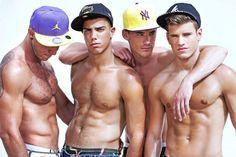 Hunk Gay Latino Male Models