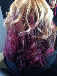 Tremendous Blonde Hair Pink Highlights And Platinum Blonde Hair On Pinterest Hairstyle Inspiration Daily Dogsangcom