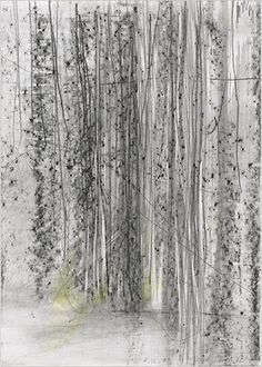 Gerhard Richter - drawing 1999 - graphite on paper