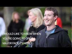 Facebook CEO visits Harvard