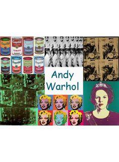 Download de pdf door op dit image te klikken Fun Arts And Crafts, Crafts To Do, Andy Warhol, Basquiat, Keith Haring, Pop Art, Elements Of Art, Art Classroom, Vincent Van Gogh