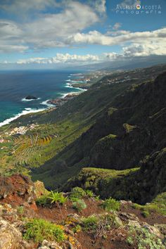 La costa norte de Tenerife