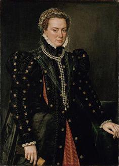 Margarita de Austria, hija ilegítima de Carlos I. Fue duquesa de Parma y Gobernadora de los Países Bajos