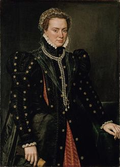 Antonis Mor – Portrait of Margaret of Parma, duchess of Parma and governor of the Netherlands, c. 1562 | Gemäldegalerie, Berlin