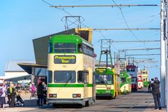 Light Rail, Blackpool, Transportation, Tours