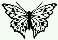 siluetta mariposa