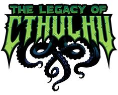 The Legacy of Cthulhu – Michael Dashow Cartoon Logo, Cartoon Art, Fantasy Logo, Video Game Logos, Wall Writing, Entertainment Logo, Game Logo Design, Esports Logo, Typography