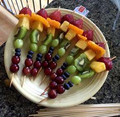 Rainbow Fruit Kabobs | Germ Magazine
