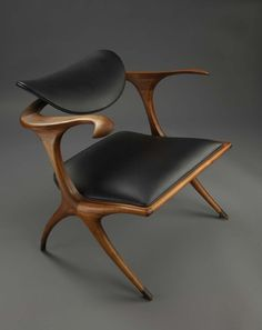 Sculptured MCM Chair designed by Evert Sodergren