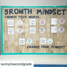 Love this bulletin board by @sunnyinsecondgrade ! I just attended a full week of Math PD focused around a growth mindset! Can't wait to use this idea in my classroom     #Repost @sunnyinsecondgrade (@get_repost)  ・・・  Love how my Growth Mindset board turned out! This mindset is so important for everyone (not just second graders!) to learn! #growthmindset #bulletinboard #shiplap #bts2016 #backtoschool #classroomreveal #classroomdecor #teachertribe #iteachtoo #iteachfifth #love