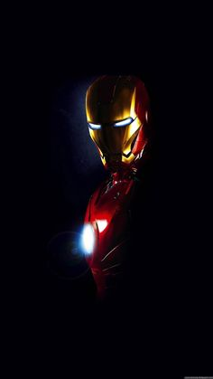 Movies iPhone 6 Plus Wallpapers - Iron Man Arc Reactor Glow iPhone 6 Plus HD Wallpaper